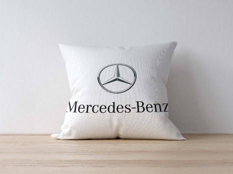 Подушка с логотипом MERSEDES-BENZ