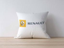 Подушка с логотипом RENAULT