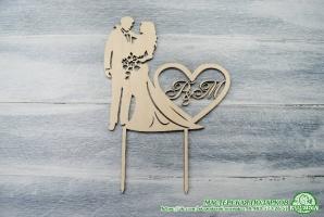 Топпер свадебный №4