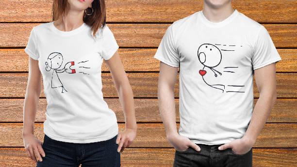 Парные футболки №4