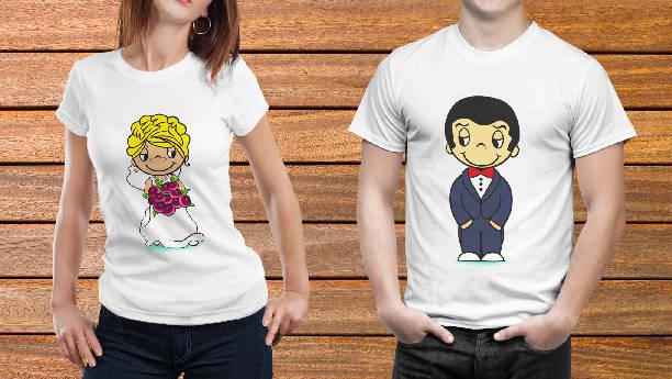 Парные футболки №8