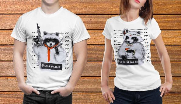 Парные футболки №10