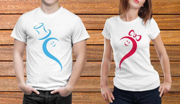 Парные футболки №12