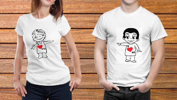 Парные футболки №17