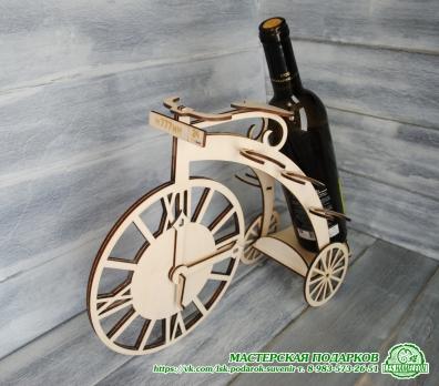 Велосипед - подставка под вино.