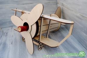 Подставка для вина - самолет