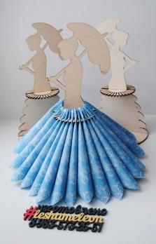 Салфетница Девушка с зонтиком