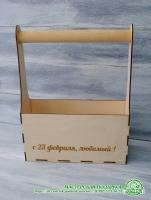 Декоративная коробка под инструменты