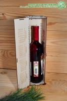 Подарочная упаковка-календарь для бутылки