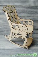 Кукольный стул из фанеры