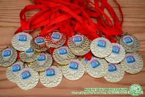 Медаль металлическая с фотопечатью для выпускника D=50 мм