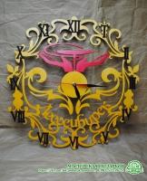 Часы с логотипом организации