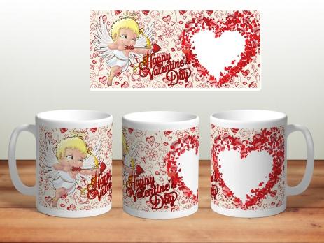 Кружка happy valentine day №2